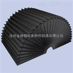 轴承机械专用柔性风琴防护罩,磨床专用导轨式防护罩
