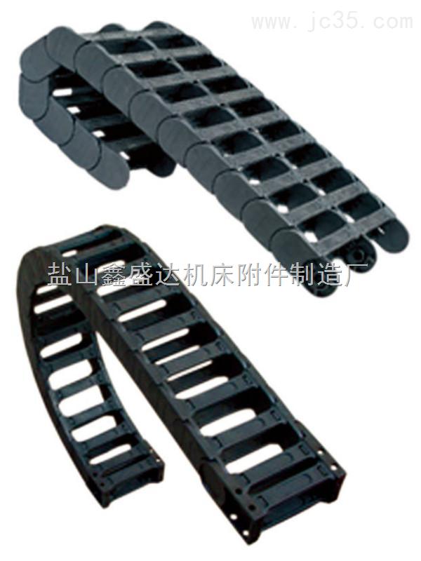 厂专业生产45*100全封闭工程尼龙拖链