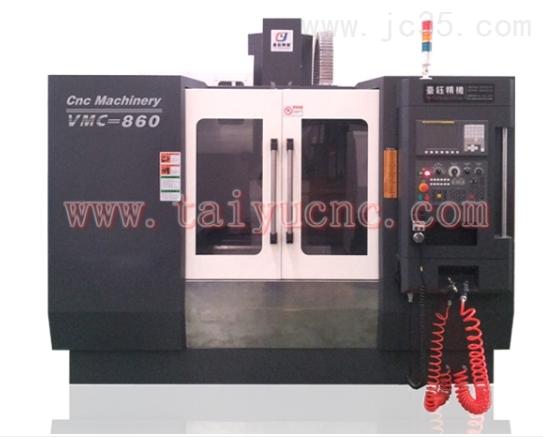 VMC-850硬轨立式加工中心产品出厂百分百全检