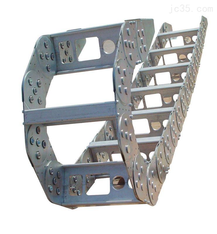 桥式不锈钢线缆钢铝拖链