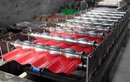 河北仿古式琉璃瓦压瓦机彩钢设备厂家