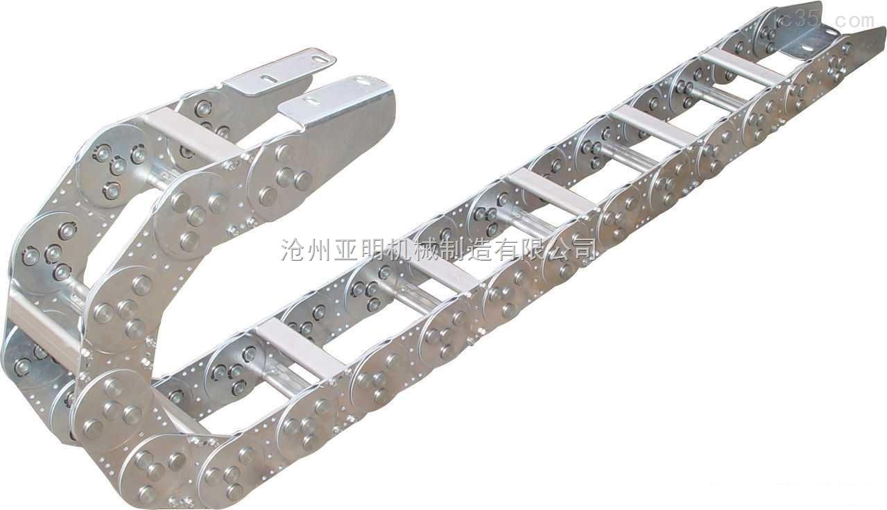 亚明机械供应正品铣床不锈钢钢制拖链