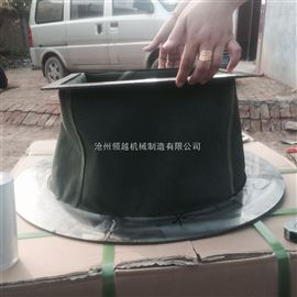 不锈钢法兰式耐高温风机软连接 变径软连接