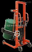 【供应】FCS-150kg电动堆高车专为圆桶装卸搬运手动倒桶秤