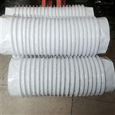 灰色硅胶布耐高温通风管