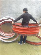 硅玻钛耐高温通风软连接 硅钛布耐高温风机软连接