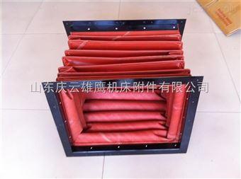 供應電廠耐高溫硅鉑鈦防火軟連接