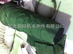 密封型耐磨绿色帆布输送软连接