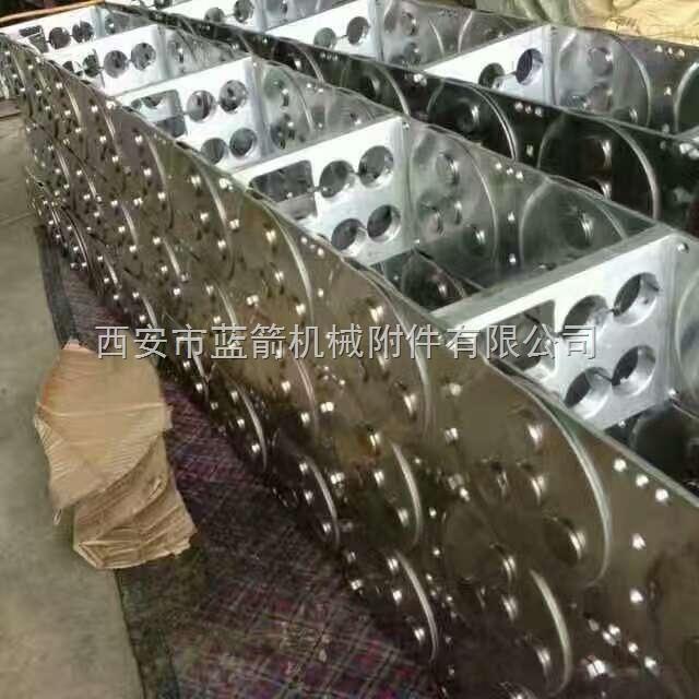 伸缩式不锈钢穿线拖链