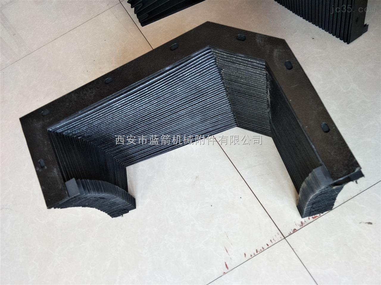 异型耐高温阻燃风琴防护罩