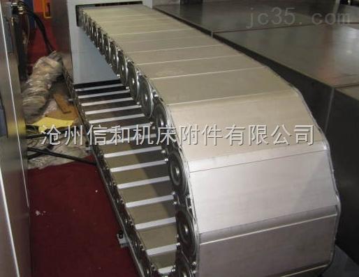 厂家制作机床钢铝拖链