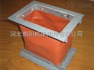 矩形风道纤维织物补偿器耐高温防腐蚀