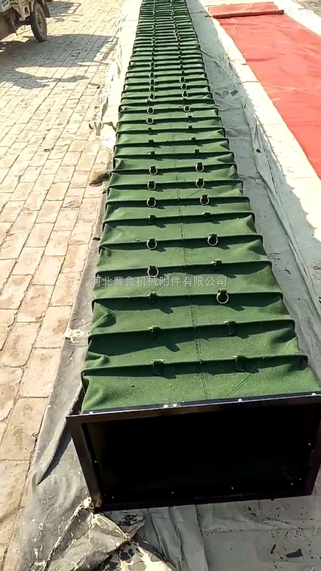 大量供应耐腐蚀除尘设备帆布通风软连接