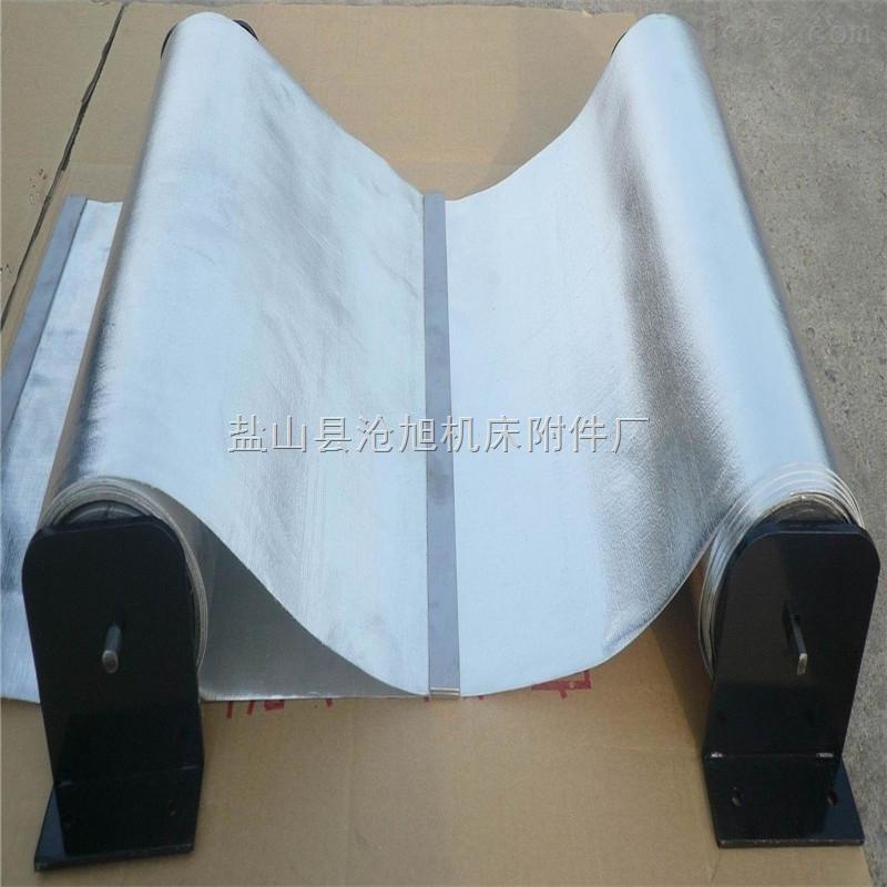 长期供应银色钢带式防尘罩