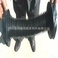 机床圆型伸缩保护罩 丝杠防护罩