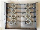 数控机床导轨防护罩 伸缩式拉筋钢板防护罩