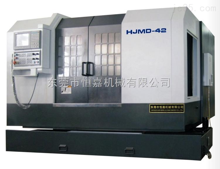 HJMD42双主轴双刀架车铣中心车铣复合数控车床台湾新代系统机械