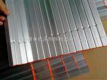 批量供应机床铝型材防护帘 卷帘防护罩