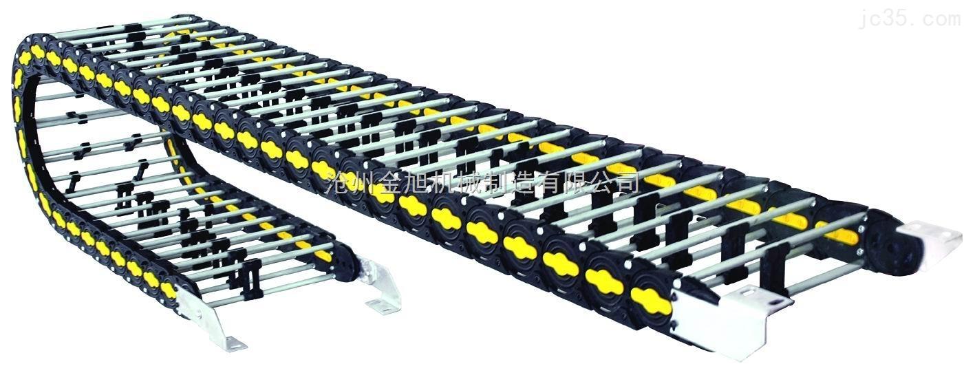 郑州55*200KEM桥式塑料拖链