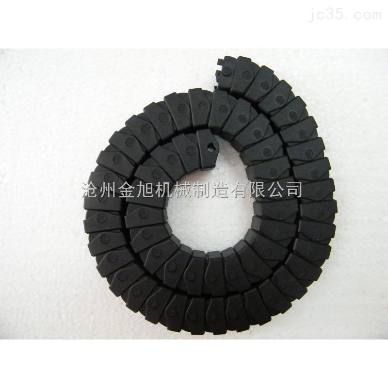 西藏35*75穿线塑料拖链