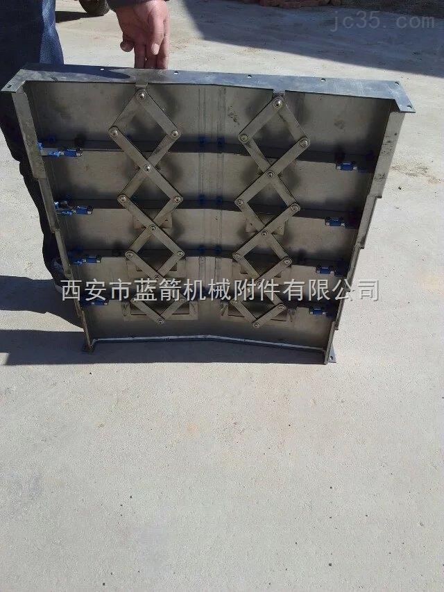 西安不锈钢护板机床加工中心钢板防护罩