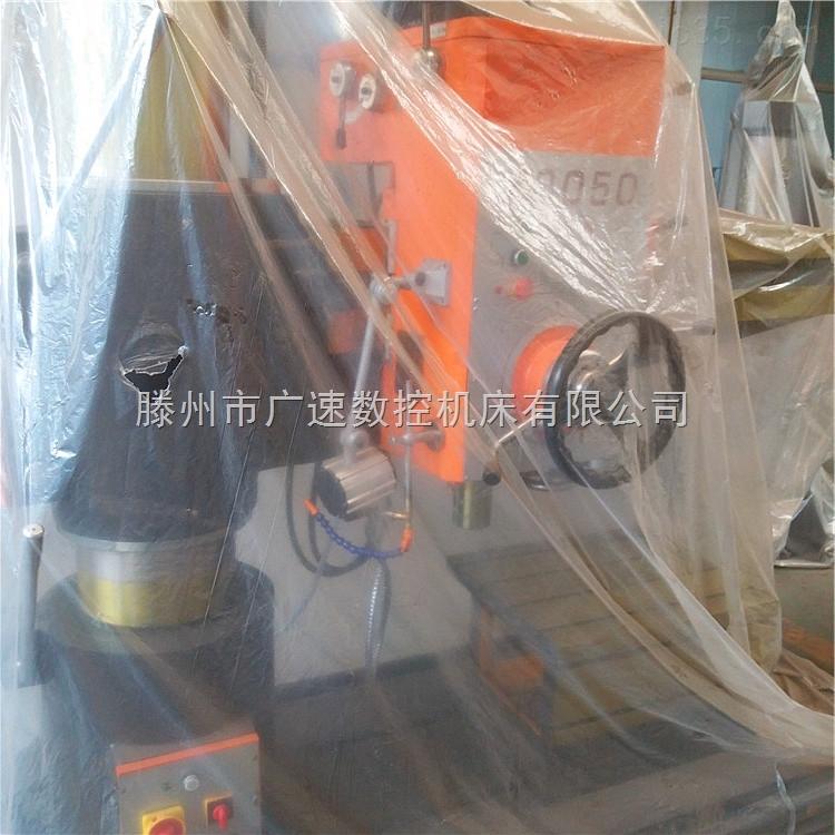 zq3050机械摇臂钻床双立柱结构加强稳定性