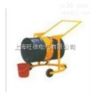 优质供应机械旋转式液压油桶搬运车