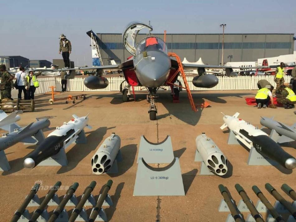 好飞机中国造 赞比亚空军L15南非航展首次曝光