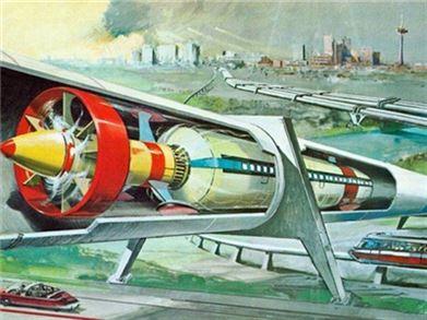 图说超级高铁的前世今生 最初概念诞生于18世纪