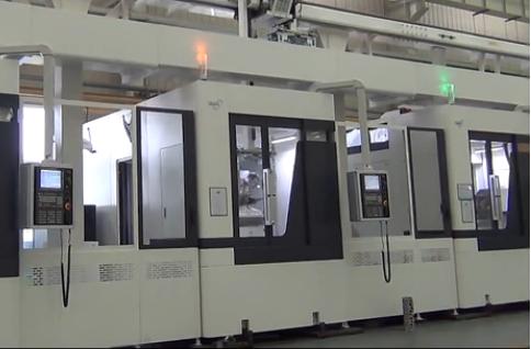 大连机床柔性加工自动生产线