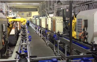 ESTUN 机器人在188bet成线系统中的应用