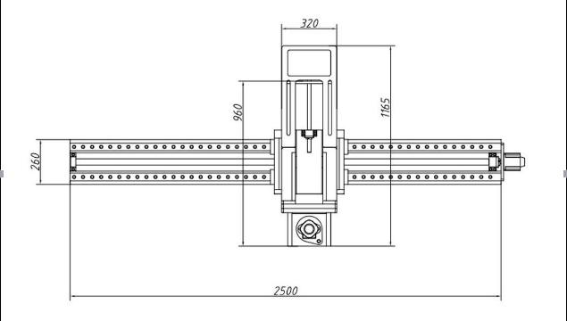 该 jrx2000-d   型便携式龙门铣床主要由 x 导轨,y 刀臂,铣削主轴
