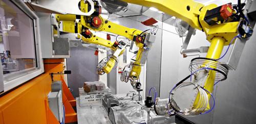 由于微电子技术的快速发展和大规模集成电路的应用,使机器人系统的