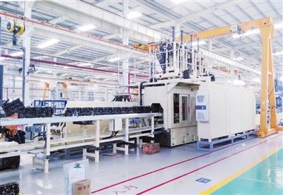 银川经开区智能转型 高端装备制造产业领先发展